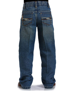 Cinch Boys' Indigo Tanner Adjustable Jeans - Straight Leg , , hi-res
