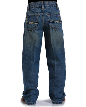 Cinch Boys' Indigo Tanner Adjustable Jeans - Straight Leg , Indigo, hi-res