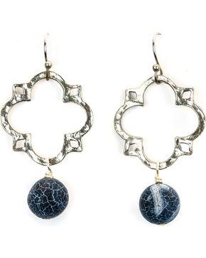 Julio Designs Medal Earrings, Silver, hi-res