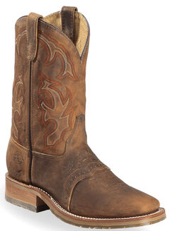 Double H ICE Roper Western Work Boots - Wide Square Toe, , hi-res