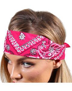 Shyanne® Women's Glittering Bandana, Pink, hi-res