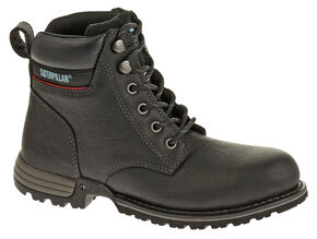 Caterpillar Women's Freedom Work Boots - Steel Toe, Black, hi-res