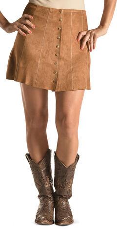 Tasha Polizzi Women's Brown Christy Skirt , , hi-res