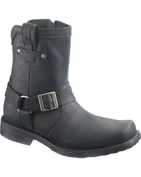 Harley Davidson Men's Corey Harness Boots - Square Toe, Black, hi-res