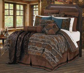 HiEnd Accents Rio Grande Full Size Bedding Set, Multi, hi-res