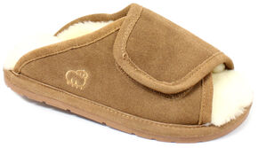 Lamo Dije California Women's Wrap Slippers, Chestnut, hi-res
