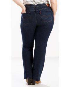 Levi's Women's 415 Classic Boot Cut Blue Jade Jeans - Plus Size, , hi-res