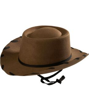 Children's Brown Woody Cowboy Hat, Light Brown, hi-res