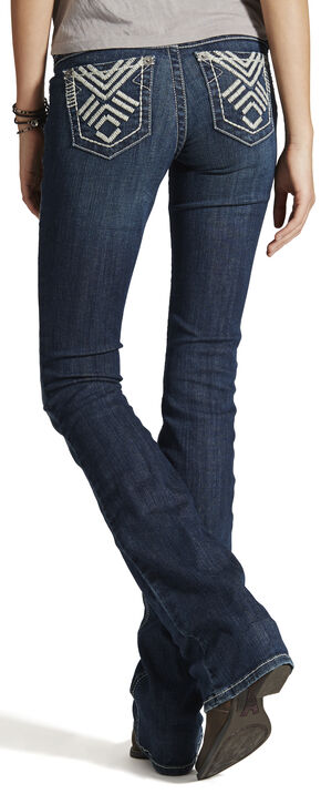 Ariat Women's Ruby Solidarity Bootcut Jeans, Blue, hi-res
