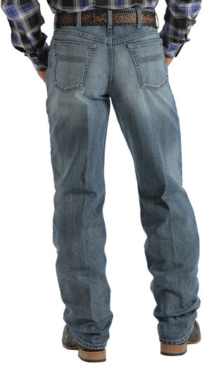 Cinch ® Black Label Medium Wash Jeans, Med Stone, hi-res