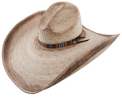 Charlie 1 Horse Coyote Straw Cowboy Hat, Natural, hi-res