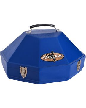 Single Hardshell Hat Carrying Case, Royal, hi-res