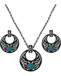 Montana Silversmiths Turquoise Garden Jewelry Set, , hi-res