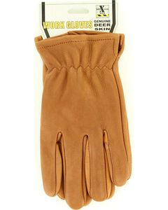HD Xtreme Tan Suede Deerskin Gloves, , hi-res