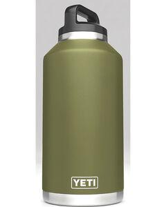 Yeti Olive Green 64 oz. Bottle Rambler , , hi-res