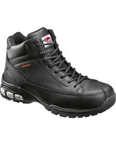 Avenger Men's Black Lace-Up Work Boots - Composite Toe, , hi-res