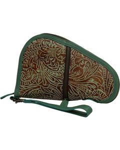 STS Ranchwear by Carroll Women's Green Floral Pistol Case , Light/pastel Green, hi-res