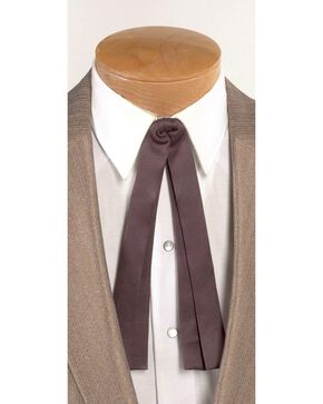 Western Double String Tie, Brown, hi-res