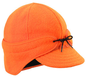 Stormy Kromer Men's Blaze Orange The Rancher Cap, Orange, hi-res