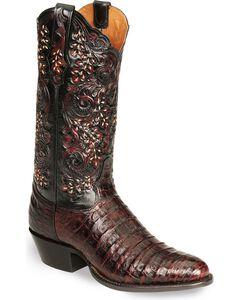 Tony Lama Signature Series Caiman Western Boots - Medium Toe, , hi-res