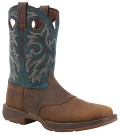 Durango Rebel Pull On Western Boots - Square Toe, , hi-res