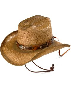 Bullhide Kids' Horse Play Straw Cowboy Hat, , hi-res