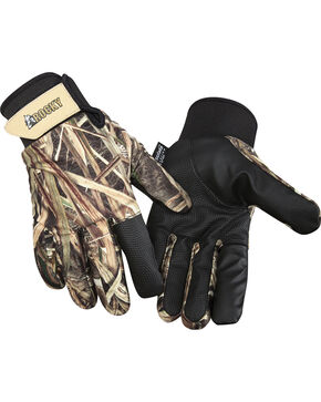 Rocky Men's Waterfowler Insulated Waterproof Gloves, Mossy Oak, hi-res