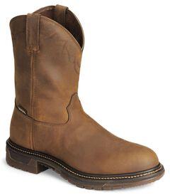 "Rocky 10"" Original Ride Roper Western Work Boots, , hi-res"