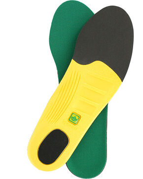 Spenco Polysorb Heavy Duty Occupational Insoles, Green, hi-res