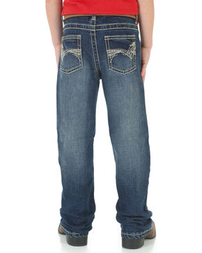 Wrangler Youth Boys' 20X No. 42 Vintage Jeans - Boot Cut , Blue, hi-res