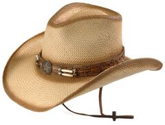 Bullhide Dundee Straw Cowboy Hat, , hi-res