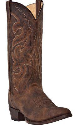 Dan Post Renegade Cowboy Boots - Round Toe, , hi-res