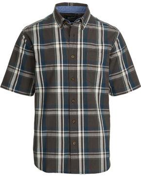 Woolrich Men's Juniata Short Sleeve Shirt, Grey, hi-res
