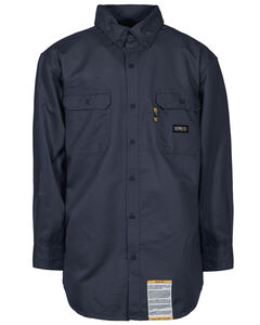 Berne Flame Resistant Button Down Work Shirt - 5XL and 6XL, , hi-res