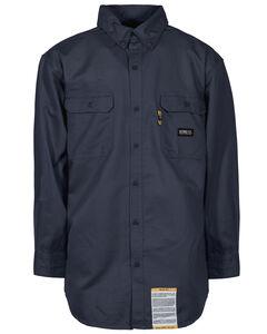 Berne Flame Resistant Button Down Work Shirt - 3XT and 4XT, , hi-res