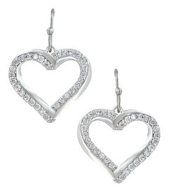 Montana Silversmiths Women's Bright Hearts Entwined Earrings , , hi-res