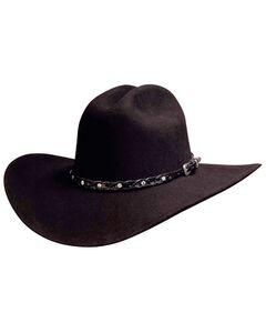 Bullhide Pistol Pete 6X Premium Wool Cowboy Hat, , hi-res