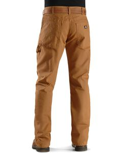 Dickies Relaxed Straight Fit Flannel Lined Carpenter Work Pants, , hi-res
