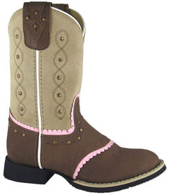 Smoky Mountain Youth Girls' Ruby Belle Western Boots - Round Toe, , hi-res