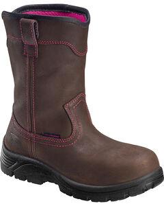 Avenger Women's Waterproof Wellington Work Boots - Composite Toe, , hi-res