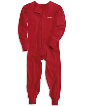 Carhartt Union Suit, Red, hi-res