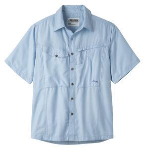 Mountain Khakis Men's Morning Sky Trail Creek Short Sleeve Shirt , Blue, hi-res