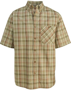 Woolrich Men's Tall Pine Madras Shirt , Sage, hi-res