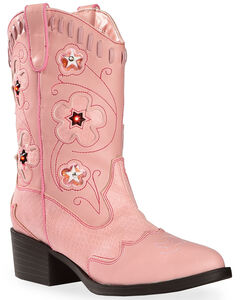 Roper Girls' Light Up Cowgirl Boots, , hi-res