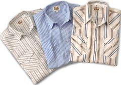 Ely Assorted Plaid & Stripe Long Sleeve Western Shirts - Big, Tall, Big/Tall, , hi-res