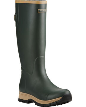 Ariat Women's Juniper Fernlee Rubber Outdoor Boots , Green, hi-res