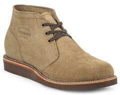 Chippewa Men's Modern Suburban Khaki Suede Shoes, , hi-res