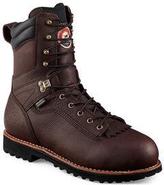 Red Wing Irish Setter Mesabi Insulated Logger Work Boots - Aluminum Toe  , , hi-res