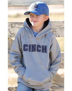 Cinch Boys' Poly Fleece Hoodie, , hi-res