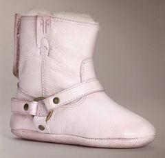 Frye Infant Girls' Velcro Harness Bootie Shearling, , hi-res